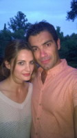 Marco Bonini, Stana Katic - Firenze - 02-07-2014 - Hollywood in Italia: il backstage di The Tourist visto dal web