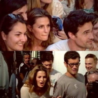 Brett Dalton, Marco Bonini, Stana Katic - Firenze - 02-07-2014 - Hollywood in Italia: il backstage di The Tourist visto dal web