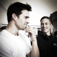 Evan Oppenheimer, Brett Dalton - Firenze - 02-07-2014 - Hollywood in Italia: il backstage di The Tourist visto dal web