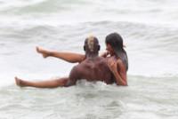 Fanny Neguesha, Mario Balotelli - Miami - 06-07-2014 - Balotelli-Fanny, fuga d'amore a Miami Beach