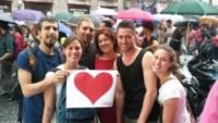 famiglia Buttà, Andrea Buttà - 07-07-2014 - Nonna Ginetta va al Gay Pride e scrive una poesia al nipote