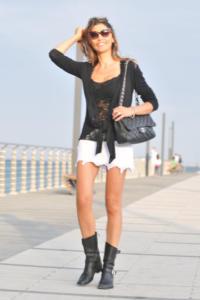 Cecilia Capriotti - Alassio - 05-07-2014 - Lo streetstyle è più malizioso con una minigonna