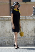 Luisa Ranieri - Roma - 05-07-2014 - Un classico intramontabile: il little black dress