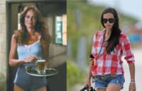 Barbara Bach, Adriana Lima - 08-07-2014 - Con gli shorts di jeans, siamo tutte Daisy Duke!