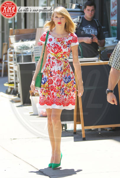 Taylor Swift - New York - 20-06-2014 - Il minidress floreale per sentirsi una jeune fille en fleur
