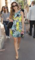 Myleen Klass - Cannes - 17-05-2014 - Il minidress floreale per sentirsi una jeune fille en fleur