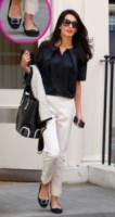 Amal Alamuddin - Londra - 14-05-2014 - W le celebrity con i piedi per terra, W le ballerine!