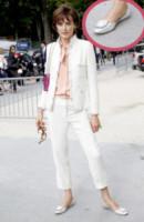 Ines de la Fressange - Parigi - 03-07-2012 - W le celebrity con i piedi per terra, W le ballerine!