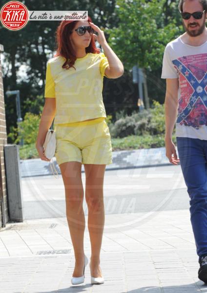 Amy Childs - Londra - 17-07-2014 - Festa della donna? Quest'anno la mimosa indossala!
