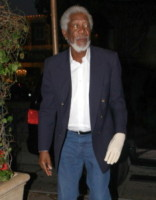 Morgan Freeman - Los Angeles - 17-07-2014 - La mano sinistra di Morgan Freeman è paralizzata