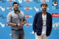Salvatore Esposito, Marco D'Amore - Giffoni - 19-07-2014 - Ciro e Genny da Gomorra La Serie al Giffoni Film Festival