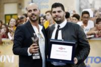 Salvatore Esposito, Marco D'Amore - Giffoni - 19-07-2014 - Marco D'Amore e Salvatore Esposito premiati al Giffoni