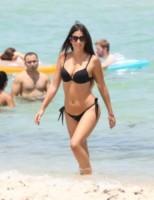Claudia Romani - Miami - 21-07-2014 - Ogni giorno Claudia Romani sfila in spiaggia a Miami
