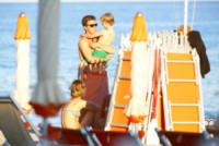 Gregorio Marsiaj, figlio - 21-07-2014 - Vacanze italiane per la top model Eva Herzigova
