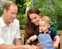 Principe George, Principe William, Kate Middleton - Londra - 21-07-2014 - George Alexander Louis, buon compleanno!