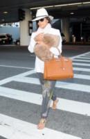 Eva Longoria - Los Angeles - 21-07-2014 - In carrozza! Anche il viaggio ha il suo dress code