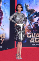 Zoe Saldana - Hollywood - 21-07-2014 - Guardiani della Galassia: la première con pancia sospetta