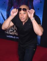Vin Diesel - Hollywood - 21-07-2014 - Guardiani della Galassia: la première con pancia sospetta