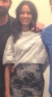 Zoe Saldana - 22-07-2014 - Guardiani della Galassia: la première con pancia sospetta