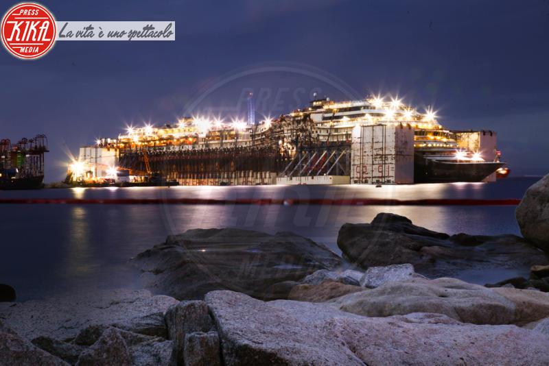 Costa Concordia - Isola del Giglio - 22-07-2014 - Costa Concordia, cinque anni fa la tragedia all'Isola del Giglio