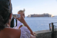 Costa Concordia - Isola del Giglio - 23-07-2014 - Costa Concordia: ecco le immagini della partenza