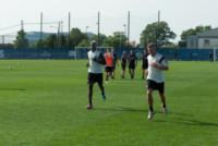 Ignazio Abate, Mario Balotelli - New York - 23-07-2014 - Mario Balotelli lascia il Milan. Al Liverpool per 4 anni