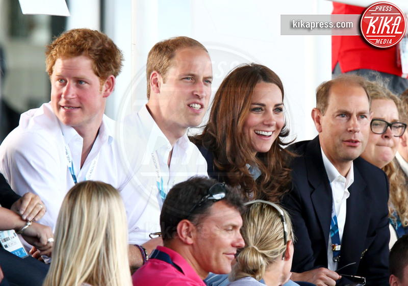 Principe William, Kate Middleton, Principe Harry - Glasgow - 28-07-2014 - La boxe è davvero troppo per Kate Middleton