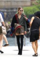 Olivia Palermo - New York - 28-07-2014 - È arrivato l'autunno: tempo di tirar fuori il poncho!