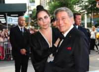 Lady Gaga, Tony Bennett - New York - 28-07-2014 - Lady Gaga presenta il nuovo singolo Perfect Illusion