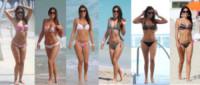 Claudia Romani - 01-08-2014 - Ogni giorno Claudia Romani sfila in spiaggia a Miami