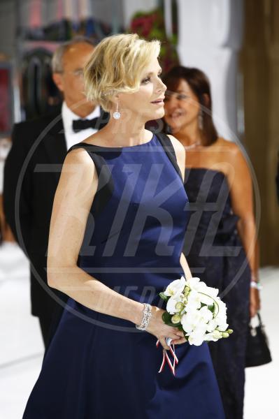 Principessa Charlene Wittstock - Montecarlo - 01-08-2014 - Il pancione è sempre più sexy sul red carpet!