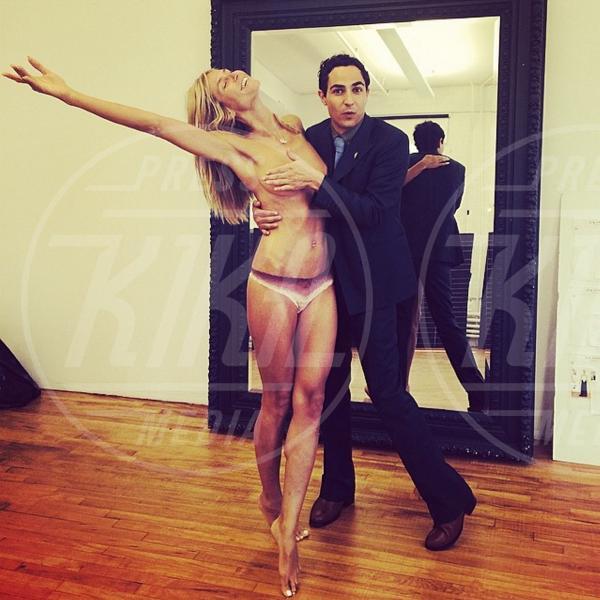 Zac Posen, Heidi Klum - 02-08-2014 - Asia Argento nuda sul letto: tattoo e seno in vista!