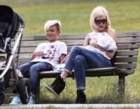Apollo Rossdale, Kingston Rossdale, Gwen Stefani - Londra - 02-08-2014 - Da Noah Green a Shiloh Nouvel: i bambini no gender dello showbiz
