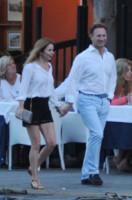 Christian Horner, Geri Halliwell - Portofino - 02-08-2014 - Trump e gli altri: i vip in italia per una vacanza 5 stelle