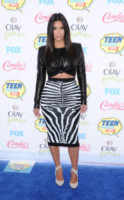 Kim Kardashian - Los Angeles - 11-08-2014 - Top Crop & company: pancini al vento sul red carpet