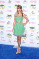 Taylor Swift - Los Angeles - 10-08-2014 - Top Crop & company: pancini al vento sul red carpet