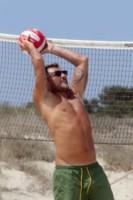 Christian Vieri - Formentera - 08-08-2014 - Christian Vieri, pallavolista con pancetta a Formentera