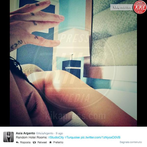 Asia Argento - Studio City - 11-08-2014 - Silvia Provvedi cade nella rete del post malizioso