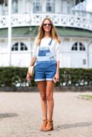 Cecilie Arling - Copenhagen - 07-08-2014 - La salopette: dai cantieri ai salotti dello star system