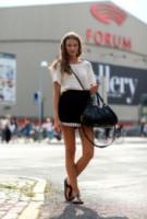 Sara Mia - Copenhagen - 07-08-2014 - Camicia bianca e gonna nera: un look… evergreen!