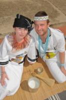 Alex Pelling, Lisa Gant - Sudafrica - 24-07-2012 - Sposi per la 66esima volta, quando il sì è una routine