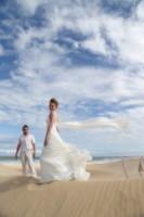 Alex Pelling, Lisa Gant - Sudafrica - 16-02-2013 - Sposi per la 66esima volta, quando il sì è una routine