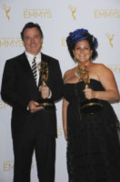 Gloria Lamb, Derek McLane - Los Angeles - 17-08-2014 - Creative Arts Emmy, trionfa il network HBO