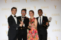 Gaurav Misra, Belisa Balaban, Jared Geller, Joseph Gordon-Levitt - Los Angeles - 17-08-2014 - Creative Arts Emmy, trionfa il network HBO