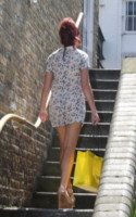 Amy Childs - Londra - 18-07-2014 - Back to school: tutte studentesse preppy con il colletto!