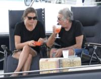 Lina Nilson, Roberto Cavalli - Grecia - 15-08-2014 - Relax degli Dei per Roberto Cavalli nell'Olimpo degli yacht