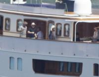 Alison Hewson, Bono - Mykonos - 22-08-2014 - Bono sceglie Mykonos per le vacanze con la moglie Alison Hewson