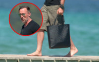 David Furnish - Saint Tropez - 24-08-2014 - David Furnish, ma che bella quella borsa!