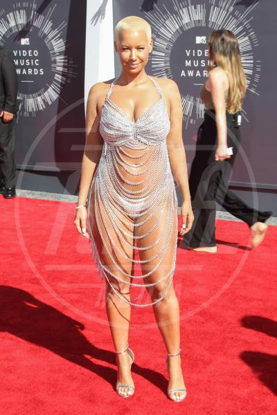 Amber Rose - Inglewood - 24-08-2014 - Top Crop & company: pancini al vento sul red carpet