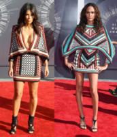 Jourdan Dunn, Kim Kardashian - Los Angeles - 25-08-2014 - Kim Kardashian e Jourdan Dunn: chi lo indossa meglio?